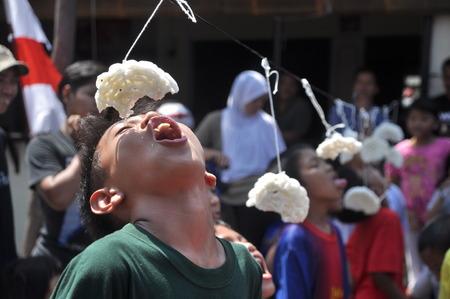 Cracker eating contest