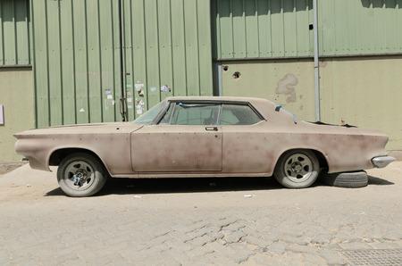 1960 Buick le sabre car left in ruin needing restoration