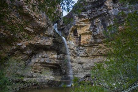 Gollorio Cascade in River Du