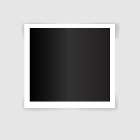 Illustration pour Photo frame Template illustration vector_1 - image libre de droit