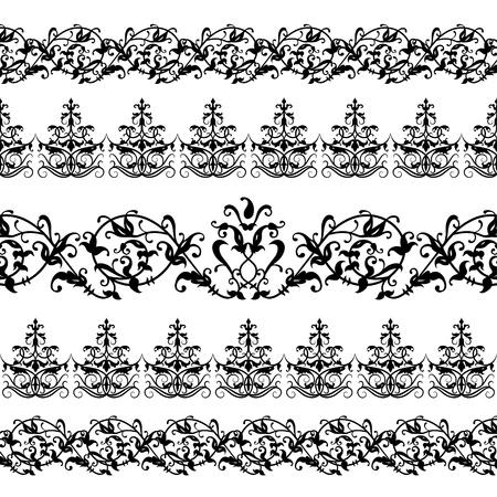 Illustration for Floral Pattern - Royalty Free Image