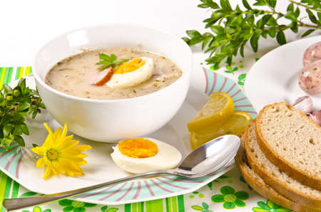 Zurek is a decent Polish Easter soup