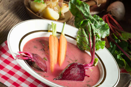 Botwinka - Soup of young beet leaves