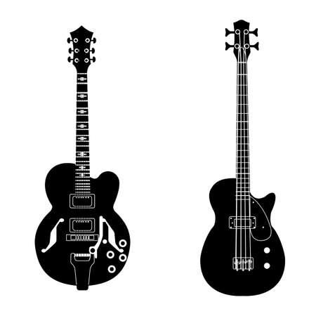 bw guitar set