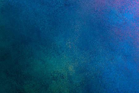 Photo pour blue grunge stucco texture, banner, copy space - image libre de droit