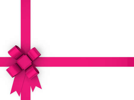 3d loop pink gift ribbon christmas birthday