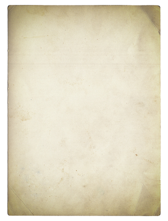 Photo pour Old photo texture with stains and scratches isolated on white - image libre de droit