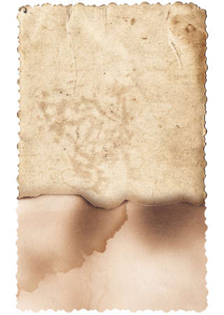 Photo pour Old photo texture with stains and scratches isolated - image libre de droit
