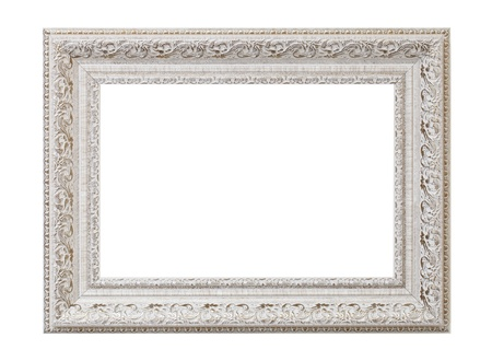 a blank picture frame