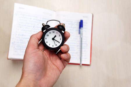 Photo pour Time Management. Concept for time management. Selective focus. - image libre de droit