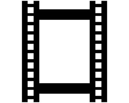 Illustration for film strip Logo Template vector illustration design - Royalty Free Image