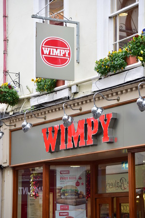 Wimpy High street shops and shopping