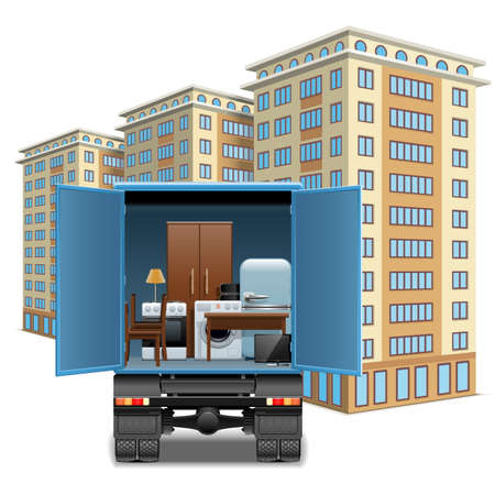 Vector Furniture Transportation