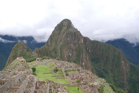 General view of Machu Picchu Peru