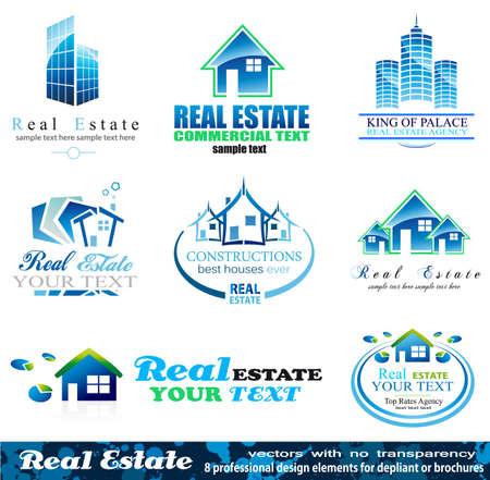 Real Estate Design Elements - Set 1