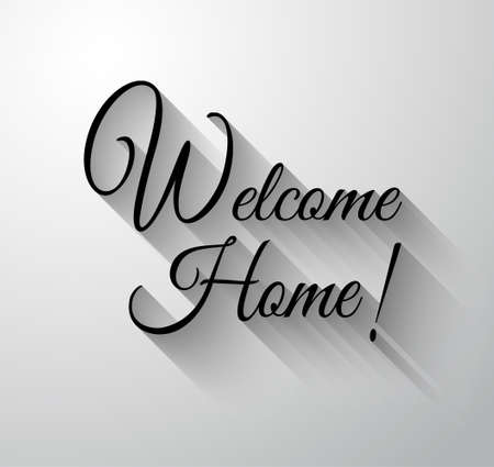 Inspirational and Motivational Typo Welcome Home for you Classsic or Vintage posters.