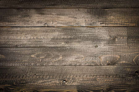 Photo for Natural Dark Wooden background. Old dirty wood tables with dramatic light effect - Royalty Free Image