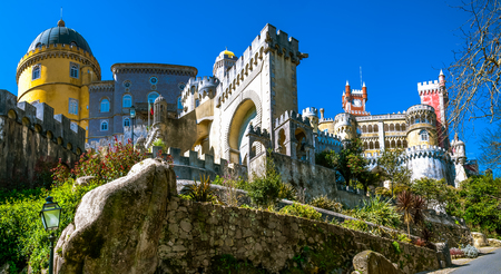 Sintra landmark - Portugal