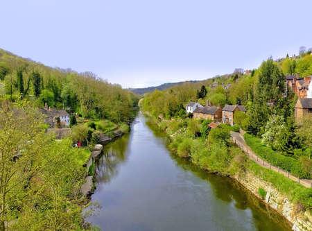 river severn ironbridge gorge shropshire england uk