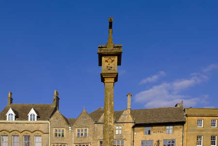 stow on the wold town centre the cotswolds gloucestershire the midlands england uk