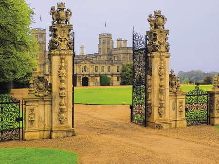 stately home castle ashby northamptonshire midlands england uk