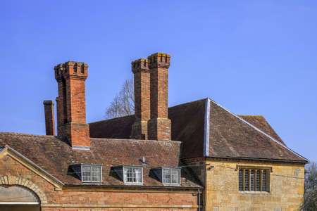 Coughton court stately home