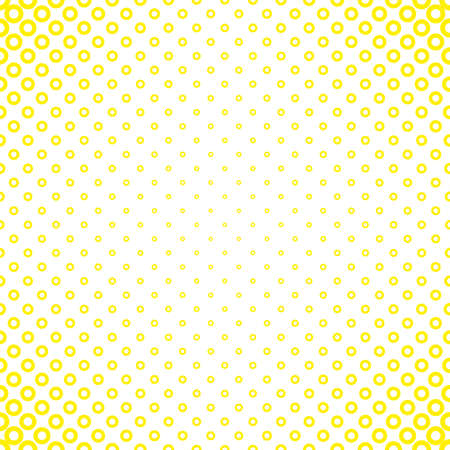 Illustration pour Abstract geometric halftone circle pattern background - vector design from rings in varying sizes - image libre de droit