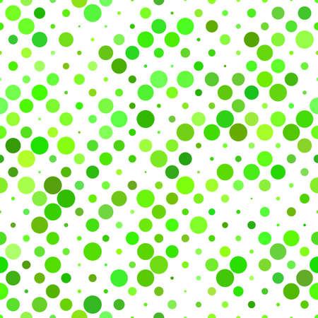 Illustration pour Green geometrical circle pattern background - repeating graphic design - image libre de droit