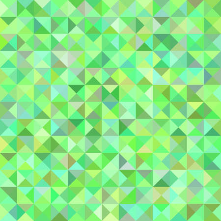 Illustration pour Green abstract triangle pyramid pattern background - mosaic vector illustration from triangles in colorful tones - image libre de droit