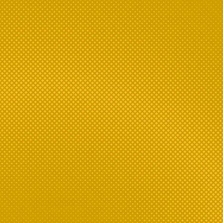 Illustration pour Yellow abstract halftone square background pattern template design - image libre de droit