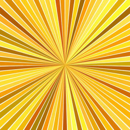 Illustration pour Orange abstract hypnotic speed concept background - vector starburst design - image libre de droit