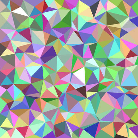Illustration pour Colorful abstract triangle tile mosaic pattern background - image libre de droit