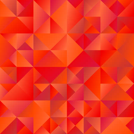 Illustration for Minimal abstract geometric gradient mosaic triangle background - Royalty Free Image