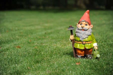 Photo for Garden Gnome - Royalty Free Image