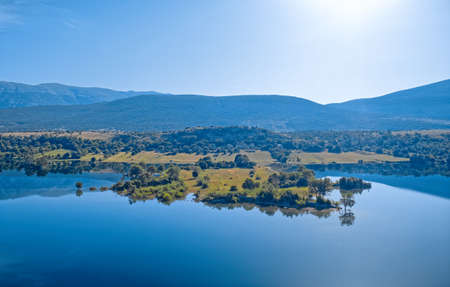 Photo for Reservoir lake Peruca at the river Cetina, Croatia - Royalty Free Image
