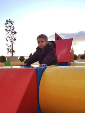 Playing in the park with geometrical shapes