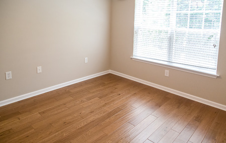 New Hardwood floor in new home