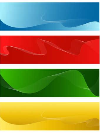 horizontal line banners
