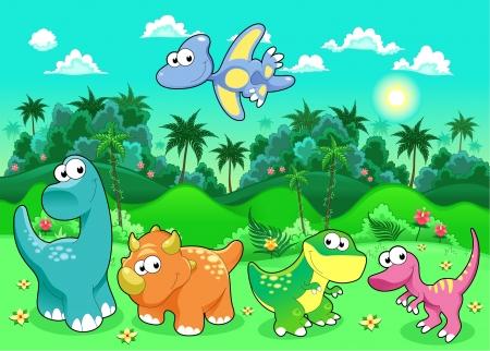 Five Lil Dinos