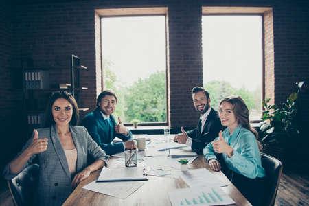 Group pf banker economist employee manager marketer employer emp