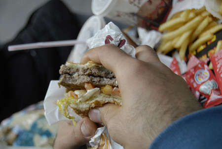 DENMARK / COPENHAGEN _  Danes and all foreign visiting Denmark have to pay Fat Tax when eating fast food or unhealthy food  Fat Tax been implimented from Oct. 1, 2011, menu of burgers and french fried include Fat Tax this food consider unhealth food 14 Oc