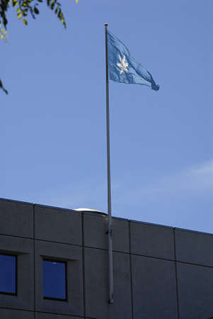 Copenhagen / Denmark._Danish Maersk shipping conern head office building 10 June 2013