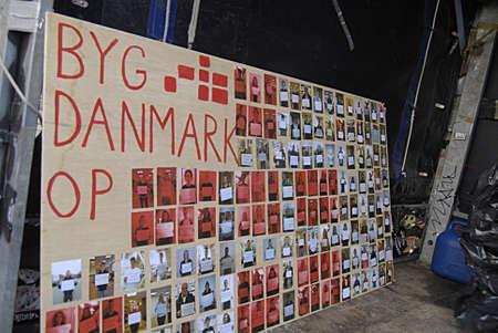 Copenhagen /Denmark- 06  December   2013  _  Students group Byg Danamrk op demonds for apprenticeships  in all danish business isntitutes ,protestors at christiansborg