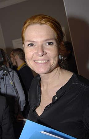 COPENHAGEN /DENMARK- Ms.Inger Stojberg (Inge Støjberg) member of parliament and former minister of Liberal political party (venstre parti)        25 Marchi 2014