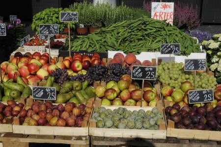 Copenhagen /Denmark - 12.September. 2017._Fruit and veges dandor .