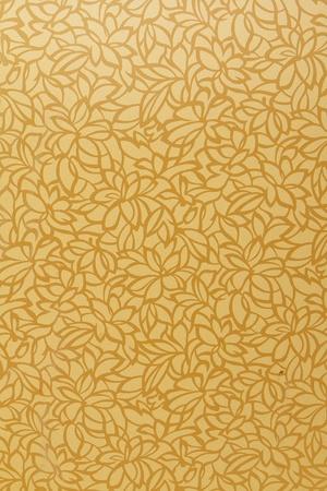 Gold leaf pattern background