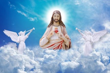 Jesus Christ on heaven