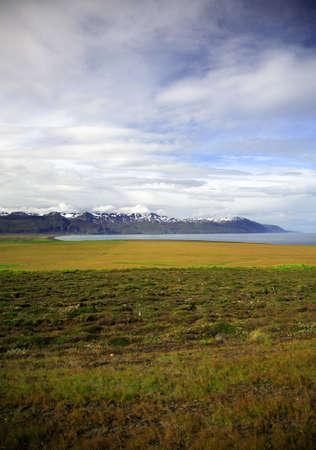 Skjalfandi Bay near Husavik Inceland