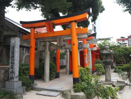Kushida-jinja is a Shinto shrine located in Hakata-ku, Fukuoka, Japan