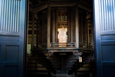 Hase-dera Temple. popular Buddhist temple in Kamakura, Japan - Sep, 2018.